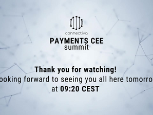 We are so proud to have more than 900 people watching the 1st day of Payments CEE Summit!