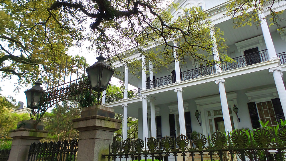 Buckner Mansion from AHS Coven I New Orleans Travel Guide I Nicole Riccardo