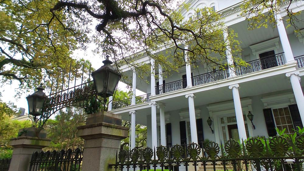 Buckner Mansion from AHS Coven I New Orleans Travel Guide I Nicole Riccardo