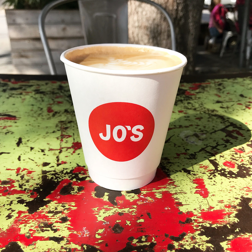 Jo's Coffee I 33 Unique Things to do in Austin, Texas I www.NicoleRiccardo.com