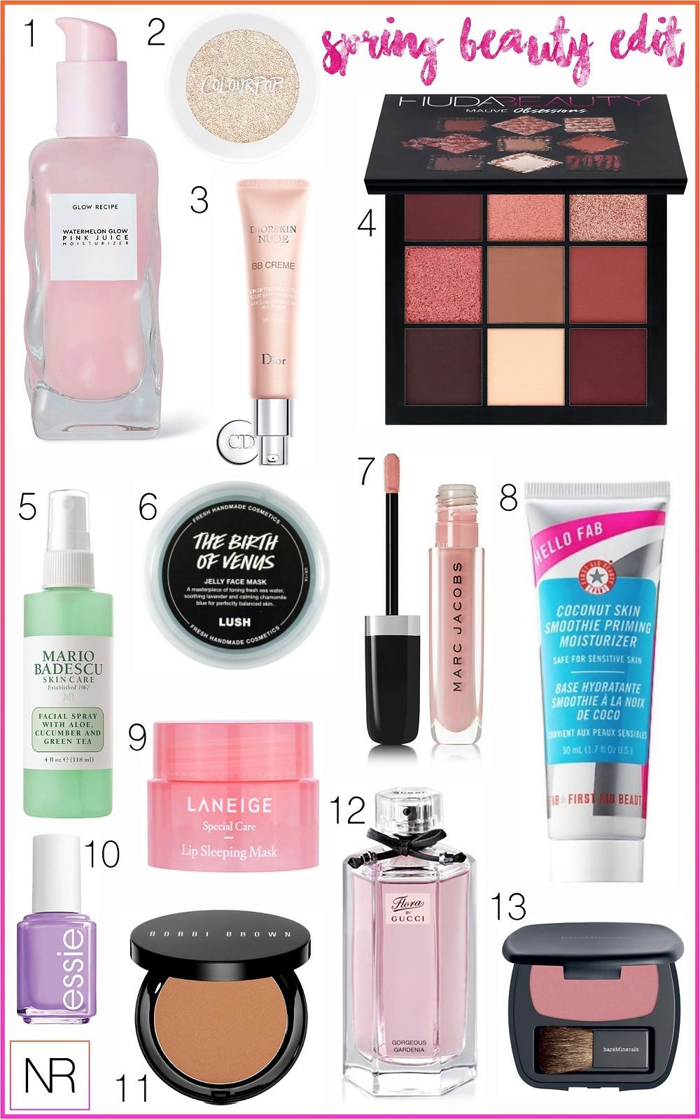 Spring Beauty I Spring Makeup I Spring Skincare I NicoleRiccardo.com