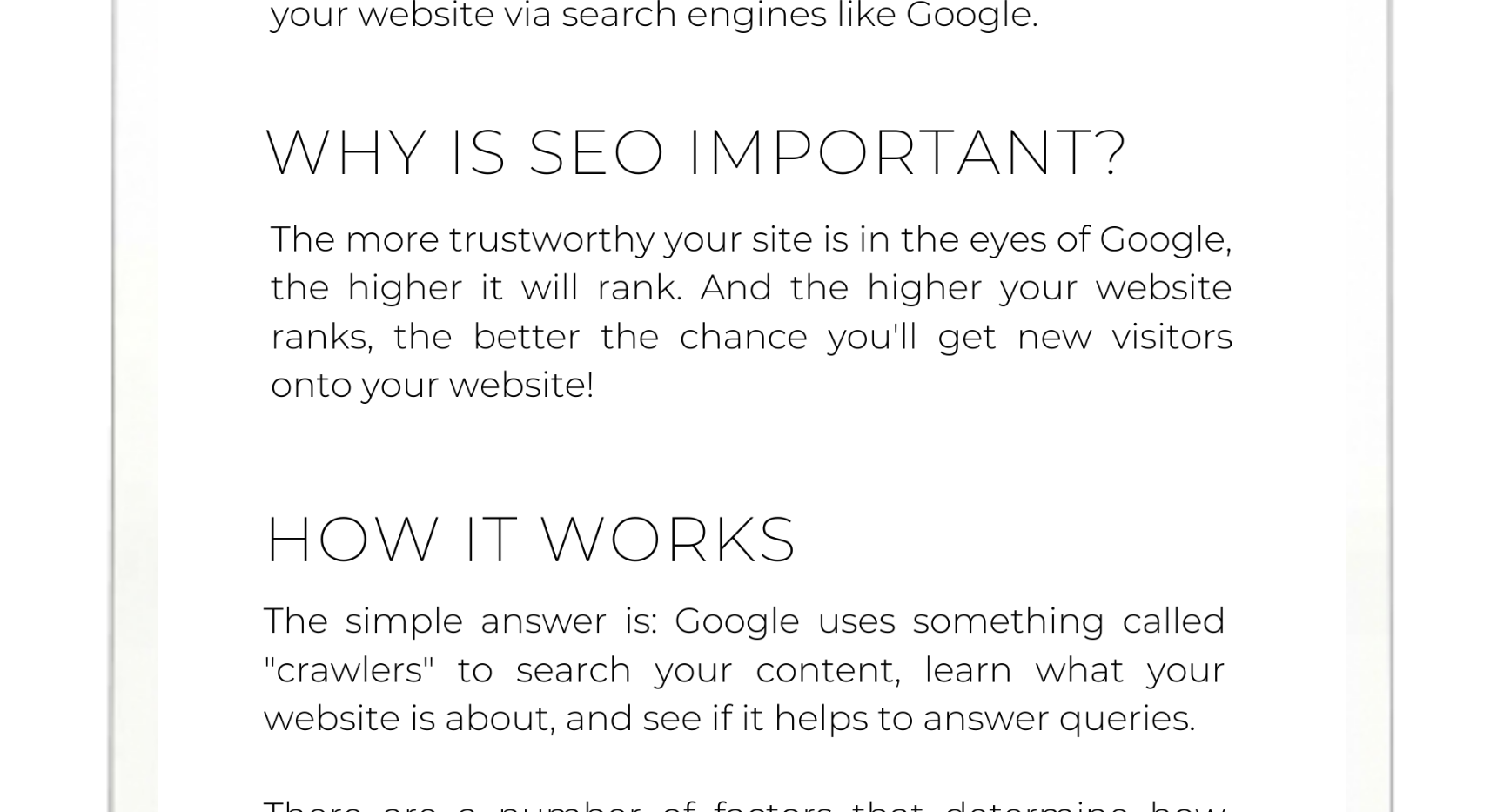 SEO GUIDE FOR WIX