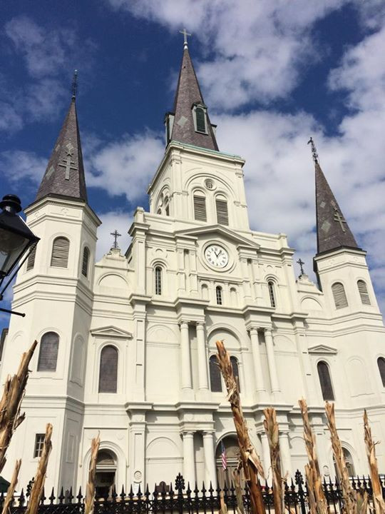 St. Louis Cathedral I Jackson Square I New Orleans Travel Guide I Nicole Riccardo