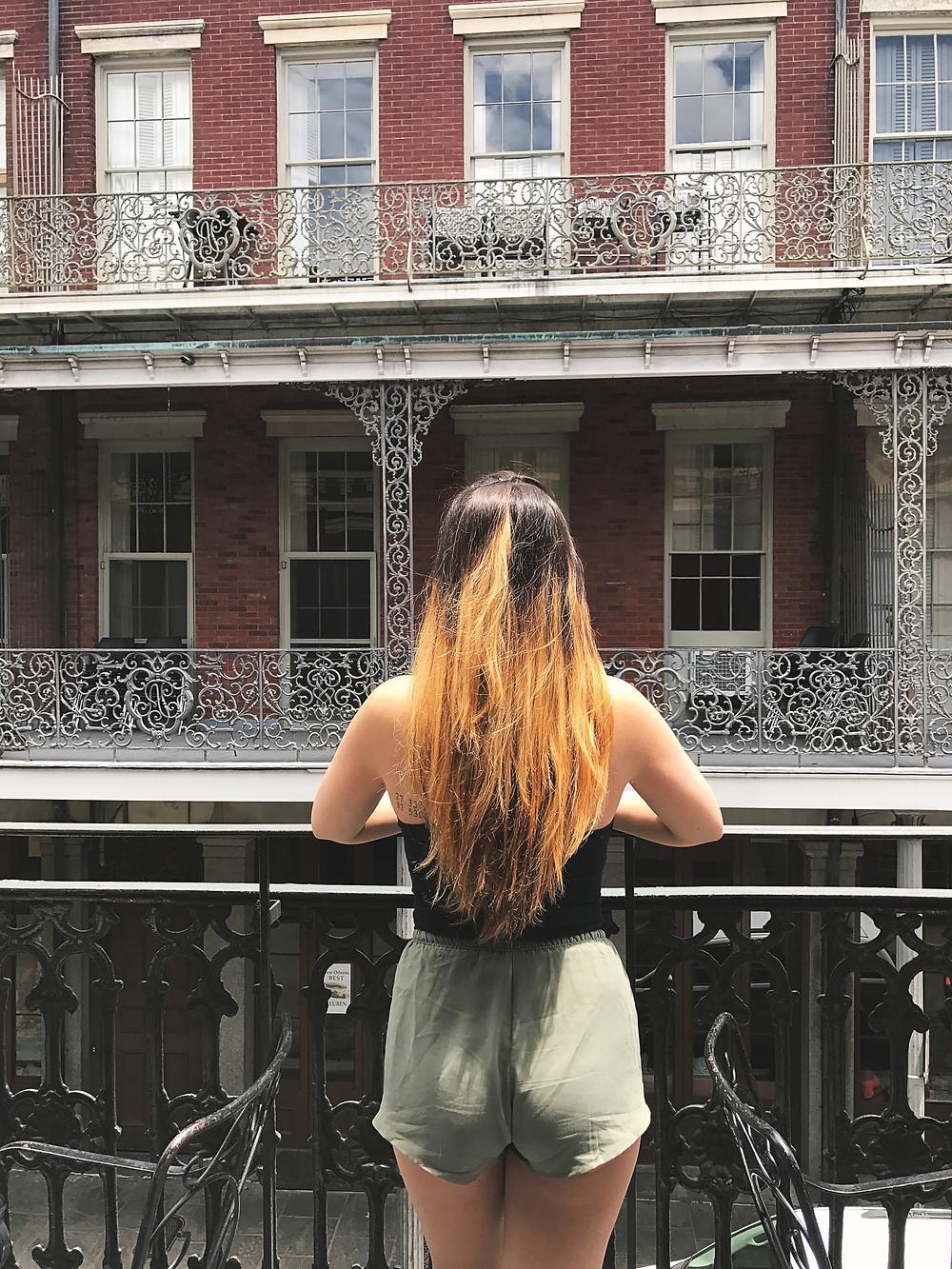 Balcony at Muriel's Jackson Square I New Orleans Travel Guide I Nicole Riccardo