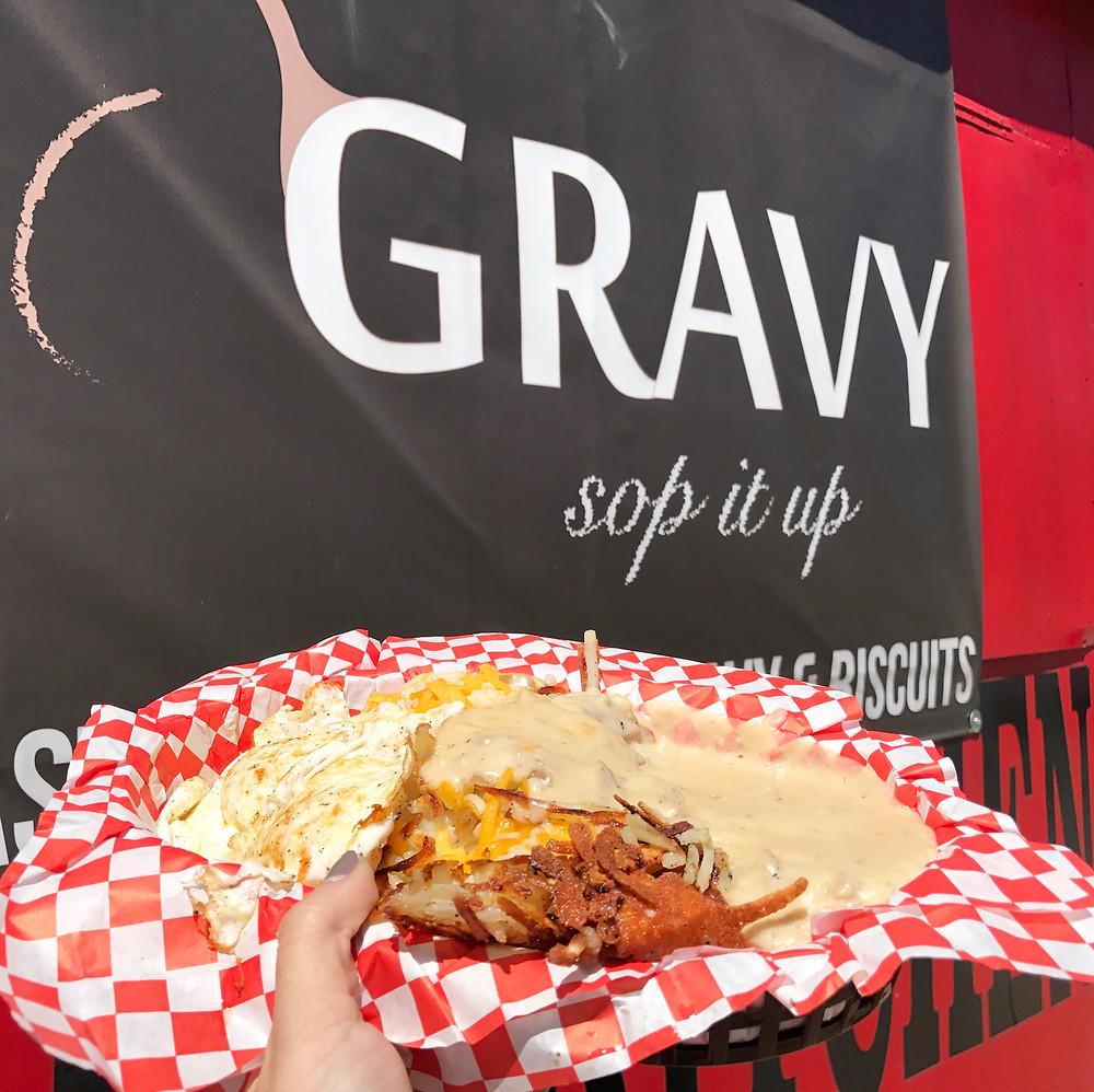 Gravy Food Truck I 33 Unique Things to do in Austin, Texas I www.NicoleRiccardo.com