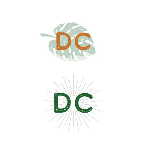 Submark Logo Designs For A Branding Concept