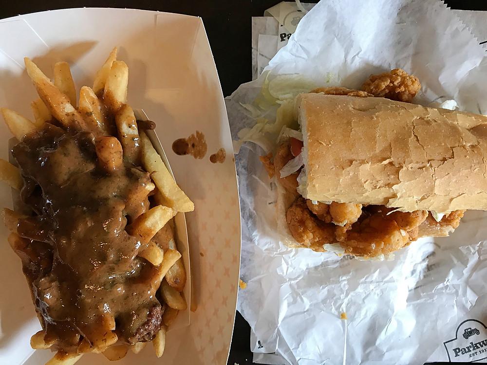 Parkway Bakery & Tavern I Po'Boy & Debris Fries I New Orleans Travel Guide I Nicole Riccardo
