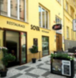 Restaurant Sova Prague, Restaurace Sova Praha, Sova Prague, Sova Praha, Sova restaurace zahrada, Sova restaurant outside