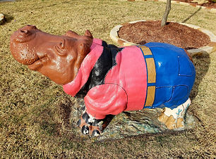 things to do in hutto texas hippo hunt in hutto look for concrete hippos in hutto
