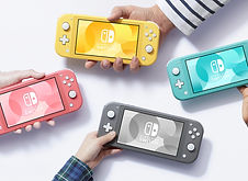 Newest Nintendo Switch Lite Amazon Link.