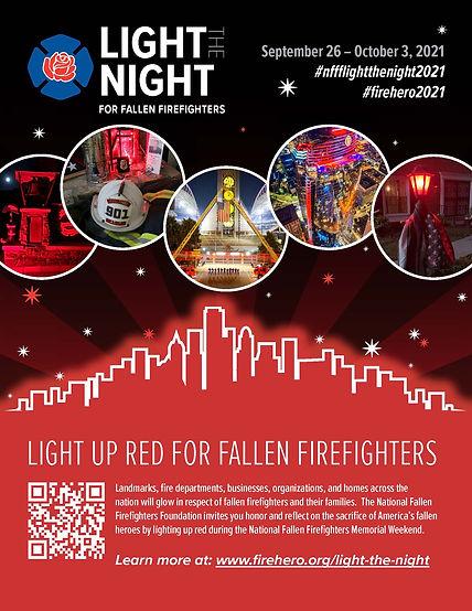 hutto light the night hutto fire department