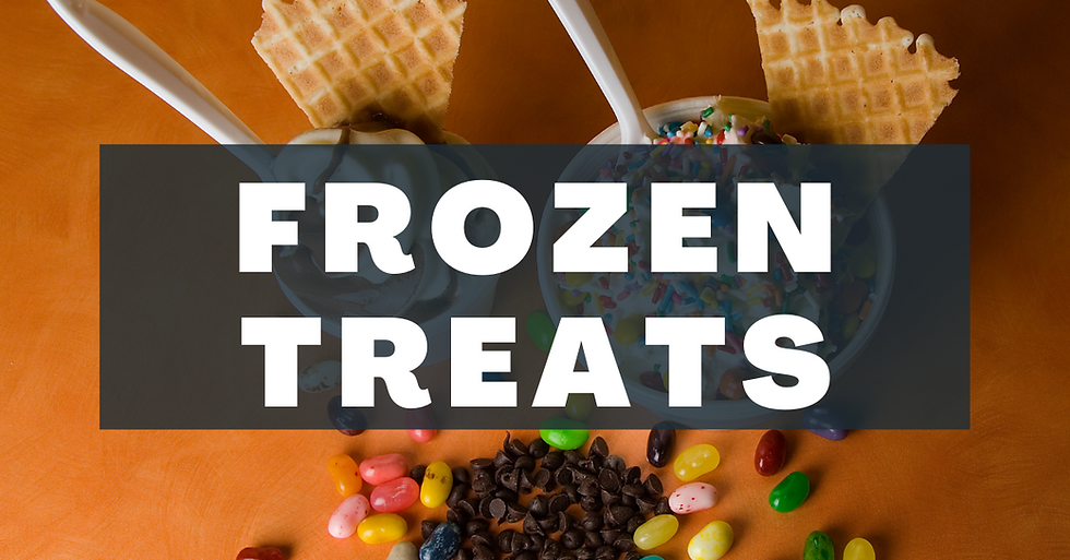 frozen treats and sweets in hutto texas