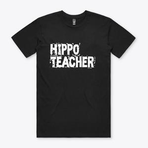 Hippo Teacher Hutto Texas T-Shirt