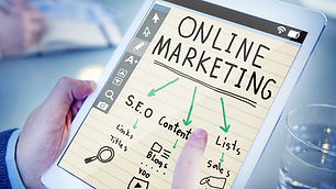 online marketing business marketing mark