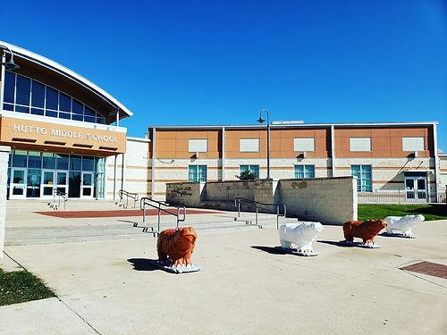 Hutto Middle School in Hutto Texas
