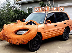 Hippo Car in Hutto Texas things to do in hutto places to see in hutto have fun in hutto see hippos in hutto