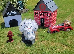 Hettie the Hippo in Hutto