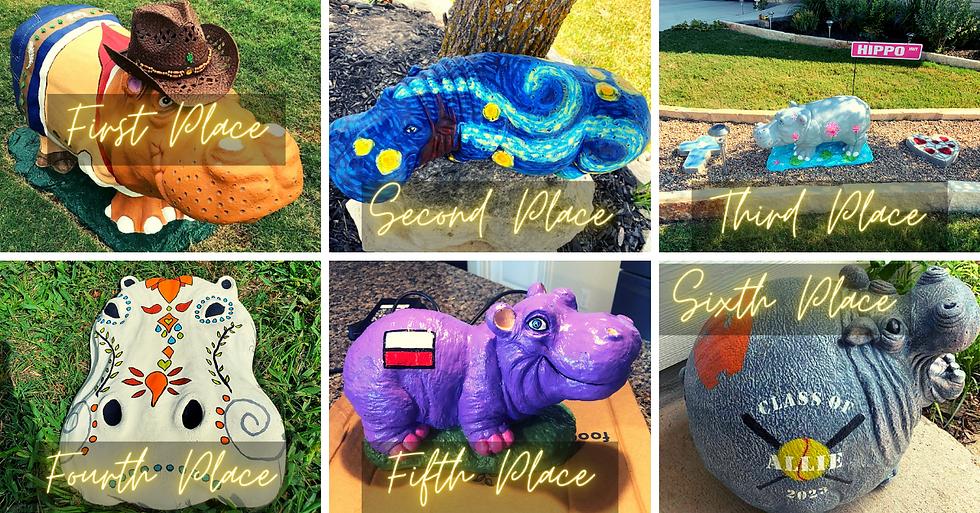Second Annual Hippo Decorating Contest 2