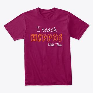 I Teach Hippos Hutto TX Teachers