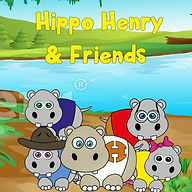 hippo henry and friends book