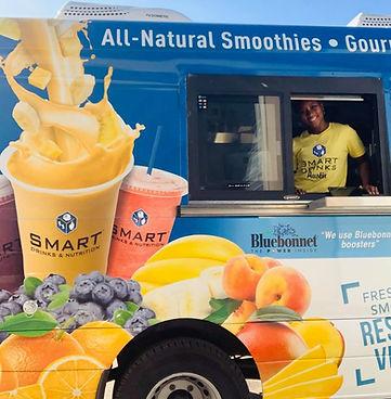 smoothie food truck smart austin drinks.