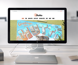 get logo on home page of iHutto