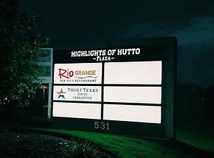 Highlights of Hutto Plaza hutto texas