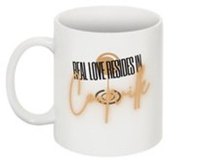 Real Love Resides in Coupeville Mug