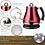 Thumbnail: 1.2L Gooseneck Electric Stainless Steel Kettle Drip Coffee Pot, 1500W