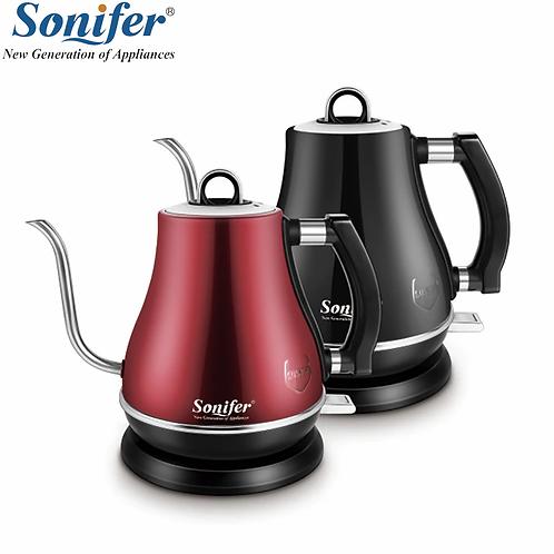 1.2L Gooseneck Electric Stainless Steel Kettle Drip Coffee Pot, 1500W