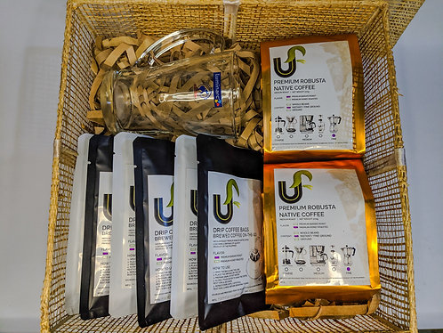 Classic Coffee Lover Gift Set | Free Shipping & Dedication Card