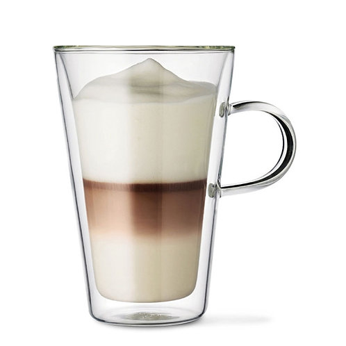 VENTI 400ml - Insulated Double Wall Glass Coffee Mug
