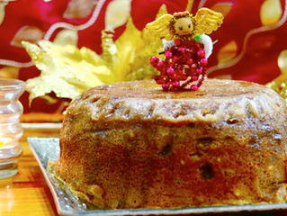 Instant Christmas Fruit Cake | 7 mins Microwave Oven fruit Cake with Rum & dry fruits & nuts