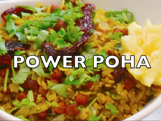 Power Poha Recipe | Power Poha for Kids | Mangalorean Breakfast | Healthy Recipes.