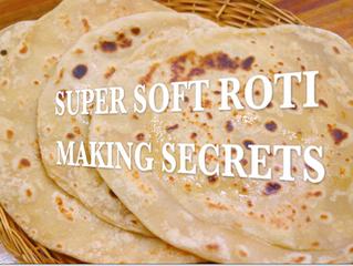 Super Soft Roti making Secret | Perfect Roti/Phulka/Chapati for lunch box Recipe