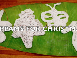 Christmas Appams Recipe | Rice & Coconut Hoppers Video | Kerala Palappam Recipe