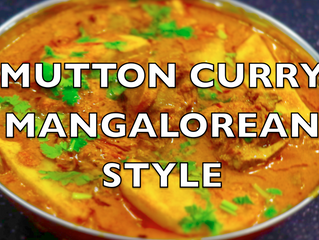 Mutton Curry Mangalorean Style | Authentic Mangalorean Mutton Curry Recipe