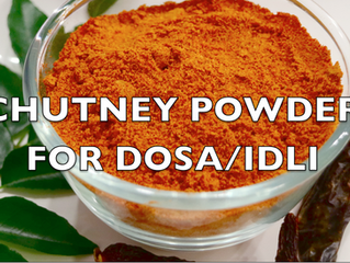 Chutney Powder for Idli/Dosa recipe | How to make Gun powder (Molagapudi) recipe