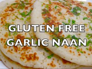 Gluten Free Garlic Naan Bread