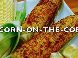 Corn-on-the-cob Indian Street Food | Best corn-on-the-cob ever on gas flame video
