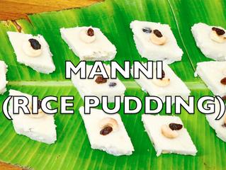 Manni (Rice Pudding) Recipe Video | Mangalorean Dessert | Rice-Coconut Halbai