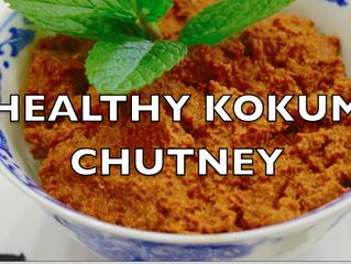 Healthy Kokum Chutney | Easy Kokum-Dates Chutney Video | Weight Loss Chutney