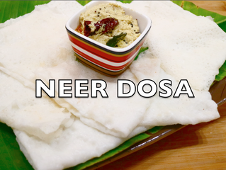 Neer Dosa (rice crepes) | Mangalorean Neer Dosa Recipe Video | Tissue Paper Dosa