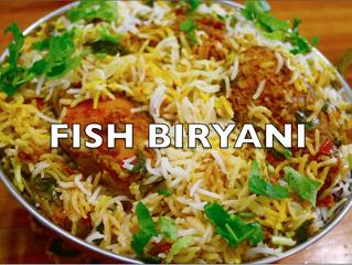 Fish Biryani Recipe | Kingfish Biryani video | Indian Fish Biryani complete meal