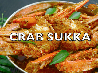 Crab Sukka Recipe | Crab Sukka Mangalorean Style | How to make Crab Masala