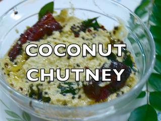 Coconut Chutney in 5 mins | Nariyal Chutney Recipe Video | Chutney for Dosa & Idli