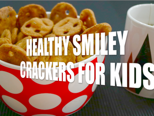 HEALTHY SMILEY CRACKERS FOR KIDS