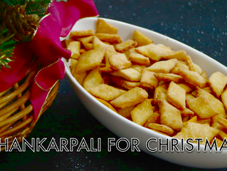 SHANKARPALI FOR CHRISTMAS