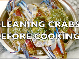How to Clean Crabs before cooking | Easy Method of Cleaning Fresh Crabs