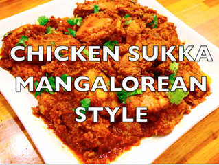 Chicken Sukka Manglorean Style | Dry Dish | Kori Sukka | How to make Chicken Sukka